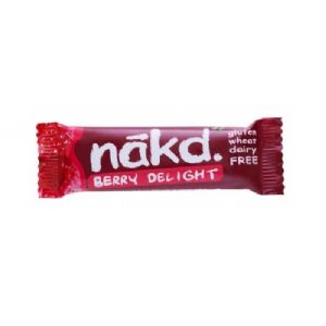 Berry Delight - Nakd Raw Fruit & Nuts Bars 35g